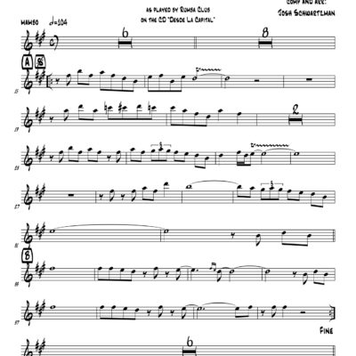 trumpet alto sax Archives - 3-2 Music Publishing